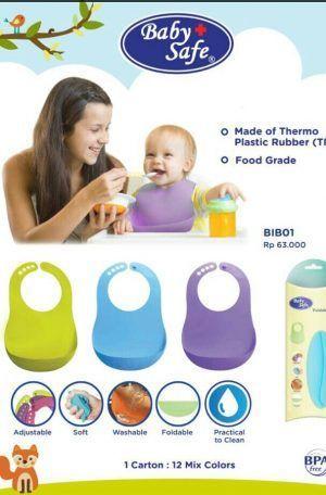 celemek makan bayi