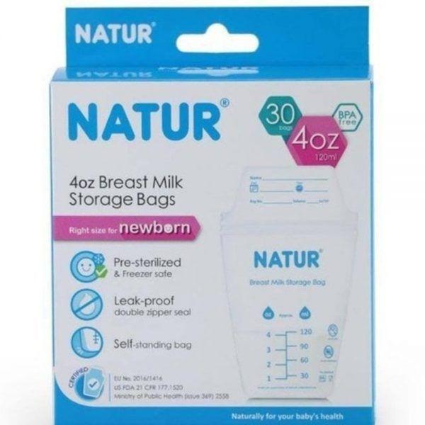 jual kantong asi natur breastmilk storage