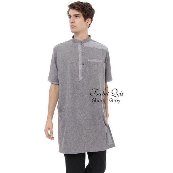 Baju Muslim Pria Lengan Pendek