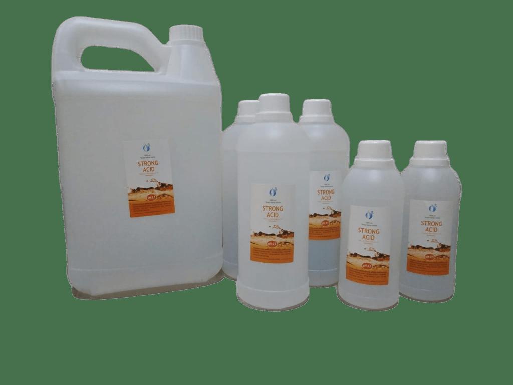 Strong acid kangen water